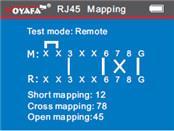Máy test mạng noyafa NF-8601S test Rj45, RJ11, POE,
