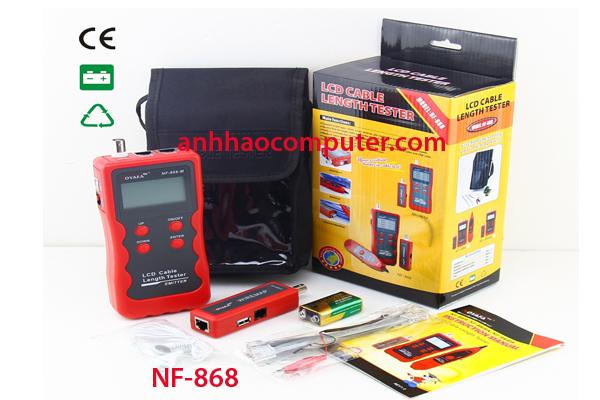 Máy test mạng dò dây mạng NF868 chính hãng
